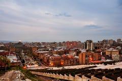 Εξισώνοντας σε Jerevan, Αρμενία από τον καταρράκτη Στοκ Φωτογραφίες