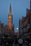 Εξισώνοντας στο Γντανσκ, Πολωνία στοκ εικόνα