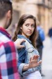 Εξοικείωση στην οδό Στοκ εικόνες με δικαίωμα ελεύθερης χρήσης