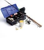 Εξοπλισμός αλιείας Στοκ φωτογραφίες με δικαίωμα ελεύθερης χρήσης
