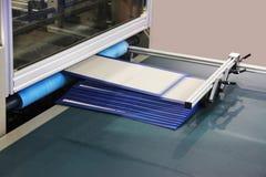 Εξοπλισμός βιομηχανίας εκτύπωσης Στοκ εικόνες με δικαίωμα ελεύθερης χρήσης