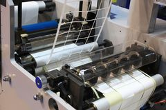 Εξοπλισμός βιομηχανίας εκτύπωσης Στοκ φωτογραφία με δικαίωμα ελεύθερης χρήσης