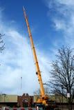 εξοπλισμός γερανών κατασκευής Στοκ Φωτογραφία