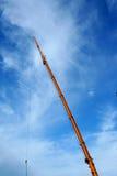 εξοπλισμός γερανών κατασκευής Στοκ φωτογραφία με δικαίωμα ελεύθερης χρήσης