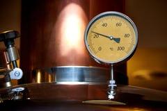 Εξοπλισμός για την προετοιμασία της μπύρας στοκ φωτογραφία