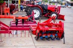 Εξοπλισμός για τη γεωργία εδαφολογικών εδαφοβελτιωτικών στοκ εικόνα με δικαίωμα ελεύθερης χρήσης