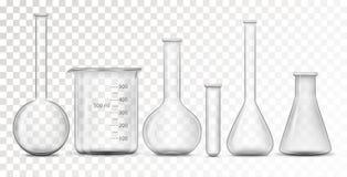 Εξοπλισμός για το χημικό εργαστήριο ελεύθερη απεικόνιση δικαιώματος