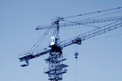 Εξοπλισμός κατασκευής πύργων γερανών Στοκ φωτογραφίες με δικαίωμα ελεύθερης χρήσης