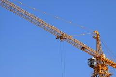 Εξοπλισμός κατασκευής πύργων γερανών Στοκ εικόνες με δικαίωμα ελεύθερης χρήσης