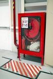 Εξοπλισμός πυροσβεστήρων στο εργοστάσιο Στοκ εικόνες με δικαίωμα ελεύθερης χρήσης