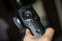 Εξοπλισμός σταθεροποιητών αναρτήρων για την τηλεοπτική καταγραφή στοκ εικόνες