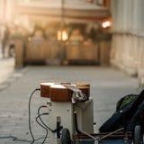 Εξοπλισμός του μουσικού οδών στοκ φωτογραφία με δικαίωμα ελεύθερης χρήσης