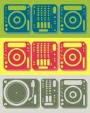 εξοπλισμός του DJ απεικόνιση αποθεμάτων