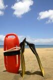 εξοπλισμός lifeguard στοκ εικόνες