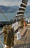 εξοπλισμός schooner Στοκ φωτογραφία με δικαίωμα ελεύθερης χρήσης
