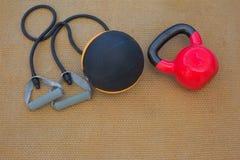 Εξοπλισμοί Workout Στοκ φωτογραφία με δικαίωμα ελεύθερης χρήσης