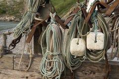 Εξοπλισμός αλιείας όρμων Lulworth Στοκ φωτογραφίες με δικαίωμα ελεύθερης χρήσης