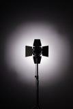 Εξοπλισμός για τα στούντιο φωτογραφιών και τη φωτογραφία μόδας Υπόβαθρο Στοκ Εικόνες