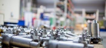 Εξοπλισμός για τη μεταλλουργική θολωμένη παραγωγή εικόνα Στοκ Φωτογραφίες
