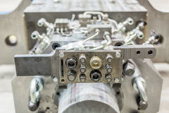 Εξοπλισμός για τη μεταλλουργική θολωμένη παραγωγή εικόνα Στοκ φωτογραφίες με δικαίωμα ελεύθερης χρήσης