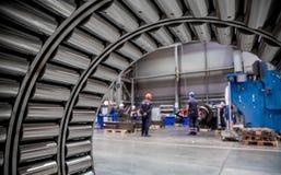 Εξοπλισμός για τη μεταλλουργική θολωμένη παραγωγή εικόνα Στοκ φωτογραφία με δικαίωμα ελεύθερης χρήσης