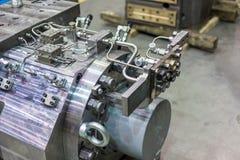 Εξοπλισμός για τη μεταλλουργική θολωμένη παραγωγή εικόνα Στοκ Εικόνα