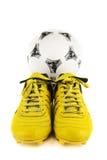 Εξοπλισμός για τον ποδοσφαιριστή στοκ φωτογραφία με δικαίωμα ελεύθερης χρήσης