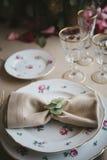 Εξοπλισμός για τους γάμους, πίνακας διακοσμήσεων Στοκ φωτογραφίες με δικαίωμα ελεύθερης χρήσης