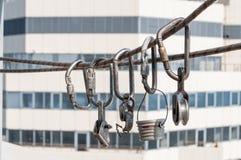 Εξοπλισμός για το βιομηχανικό αλπινισμό Στοκ εικόνα με δικαίωμα ελεύθερης χρήσης