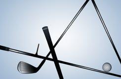 Εξοπλισμός γκολφ Στοκ φωτογραφίες με δικαίωμα ελεύθερης χρήσης
