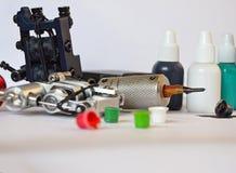 Εξοπλισμός δερματοστιξιών Στοκ εικόνα με δικαίωμα ελεύθερης χρήσης