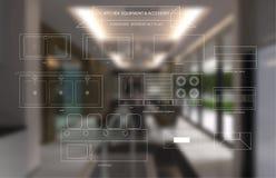 Εξοπλισμός κουζινών και βοηθητικό εικονίδιο επίπλων διανυσματική απεικόνιση