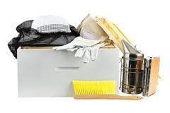Εξοπλισμός μελισσοκομίας Στοκ Φωτογραφίες