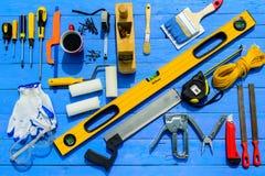 Εξοπλισμός οικοδόμων εργαλείων στοκ φωτογραφία με δικαίωμα ελεύθερης χρήσης
