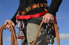 Εξοπλισμός ορειβατών βράχου Στοκ φωτογραφίες με δικαίωμα ελεύθερης χρήσης