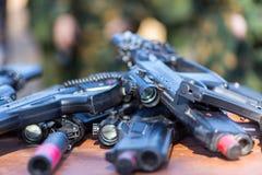 Εξοπλισμός παιδικών χαρών ετικεττών λέιζερ Στοκ φωτογραφία με δικαίωμα ελεύθερης χρήσης