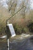 Εξοπλισμός που μετρά τους όρους ποταμών Στοκ εικόνες με δικαίωμα ελεύθερης χρήσης