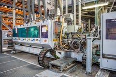 Εξοπλισμός στην κατασκευή του φύλλου πλαστικού Στοκ Φωτογραφίες