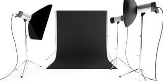 Εξοπλισμός στούντιο φωτογραφιών Στοκ Φωτογραφίες