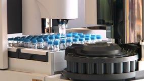 Εξοπλισμός στο χημικό εργαστήριο DNA ή ιός φιλμ μικρού μήκους