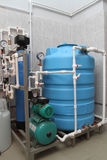 Εξοπλισμός της χημικής επεξεργασίας Στοκ εικόνα με δικαίωμα ελεύθερης χρήσης