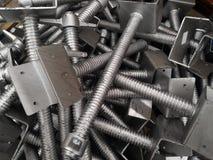 Εξοπλισμός των υλικών σκαλωσιάς στοκ εικόνα με δικαίωμα ελεύθερης χρήσης