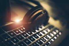Εξοπλισμός υπολογιστών Audiophile στοκ εικόνα με δικαίωμα ελεύθερης χρήσης