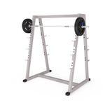 Εξοπλισμός Bodybuilding στη γυμναστική που απομονώνεται στο λευκό απεικόνιση αποθεμάτων