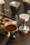 Εξοπλισμός Espresso Στοκ εικόνα με δικαίωμα ελεύθερης χρήσης