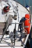 Εξοπλισμός sailboat Στοκ Εικόνες