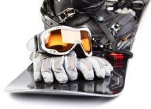 Εξοπλισμός Snowboarding Στοκ Φωτογραφίες