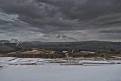 Εξορυκτική βιομηχανία πετρών χαλαζία Στοκ Εικόνες