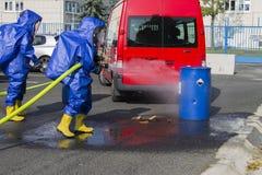 Εξουδετερώνοντας χημικές ουσίες στοκ φωτογραφίες με δικαίωμα ελεύθερης χρήσης
