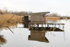 Εξοχικά σπίτια μετα-Apo στη λίμνη Στοκ φωτογραφίες με δικαίωμα ελεύθερης χρήσης